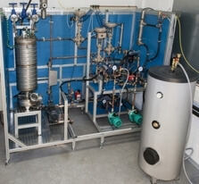 Experimental Setup for Thermal Energy Storage Systems